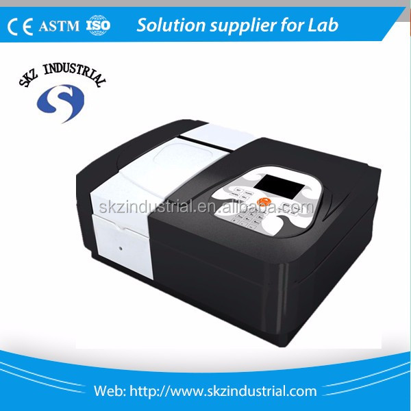High quality USB single beam uv vis spectrophotometer