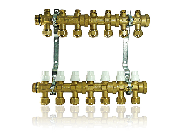 central heating pumping manifold