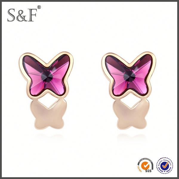 Latest Design Popular Zircon upper ear piercing jewelry