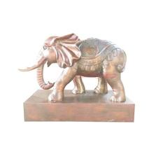 Custom Design tuin decor producten Bronzen olifant <span class=keywords><strong>standbeeld</strong></span>