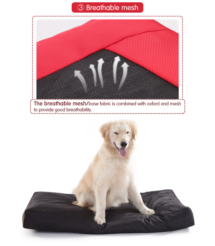 Washable Scratch Proof Dog Nest Foam Pet Bed Waterproof Dog Bed