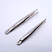 Stainless dental tweezers