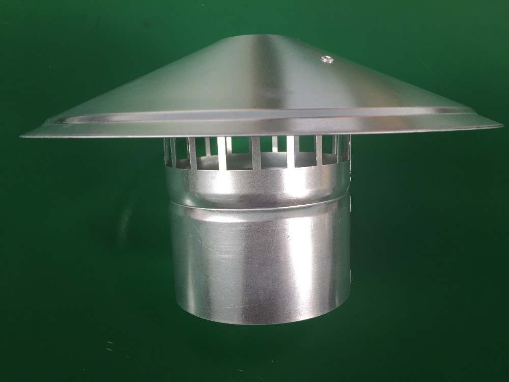 Stainless Steel Round Roof Cowl Waterproof Vent Cap
