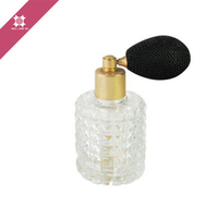 Striking rough wall cylinder 50ml design your own perfume bottle