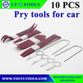 10pc Plastic Auto Trim & Stereo Removal Tools / Pry Bars