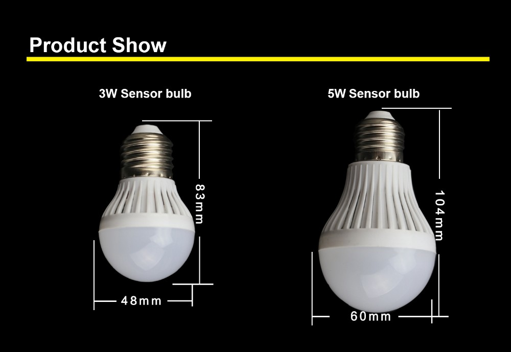 Looking For South Africa Agents B22 Led Light Bulb Sense Light ...