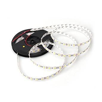 Ecloud ShopUS 2 pieces 5M 300 Warm White LED 5050 SMD Flexible Light Lamp Strip 12V DC Home
