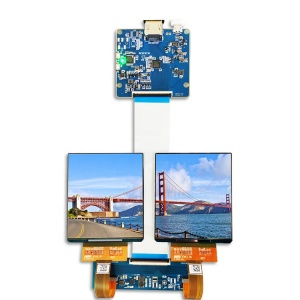 mipi interface square oled micro display driver board hdmi module screen H381DLN01.0 90hz 1080x1200 3.81 inch amoled