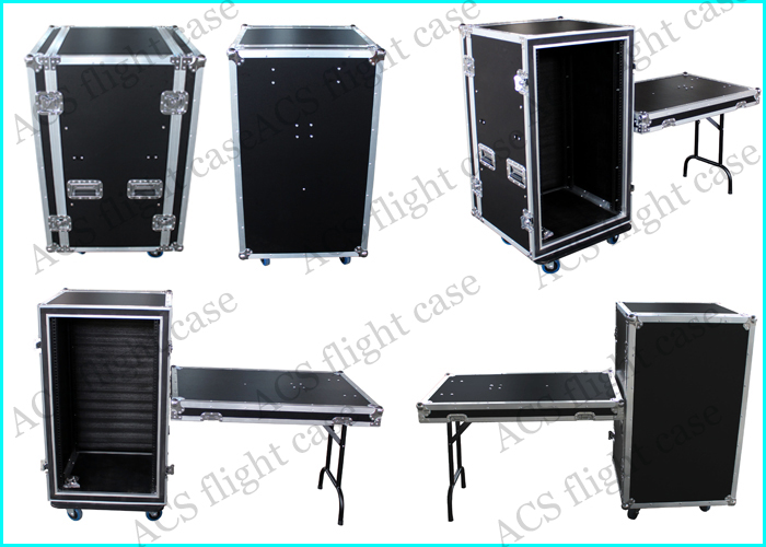 """Description ACS/Uni-Fab ™ 's Audio-Visual boxes are specifically designed for the Audio -Visual Industry. 22"""" wide enclosures accommodate 19"""" EIA rack panels."""