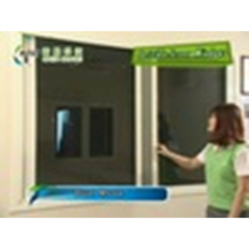 Aluminum retractable sliding insect screen window