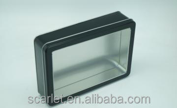 ZheJiang High quality tinplate <strong>box</strong> with custom sponge inside tin <strong>box</strong> package