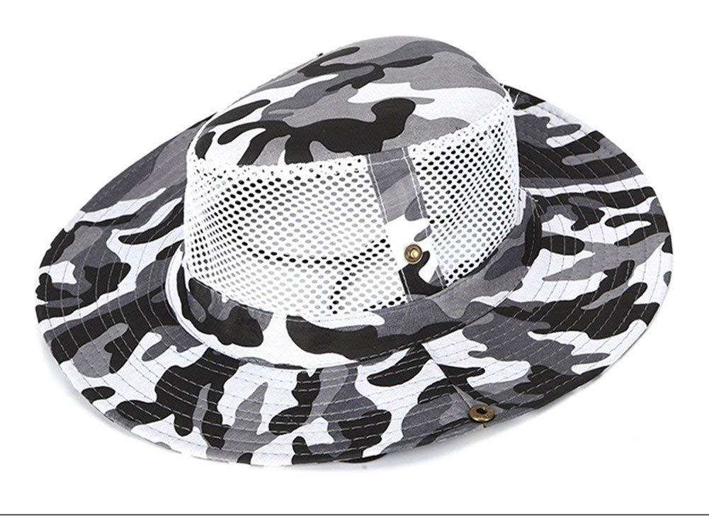af99fd3168f Get Quotations · Mcolics Boonie Bucket Hat Military Fishing Camping Hunting  Wide Brim Bucket Men Outdoor Sun-shading