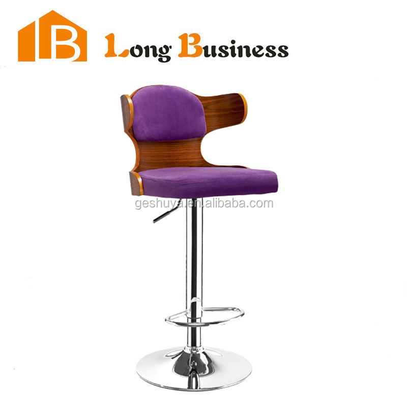 LB-5033 American Style Unique wooden bar chair, bar stools, barstool made in China
