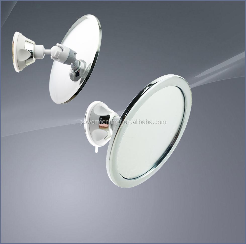 Fogless Shower Mirror For Shaving Bathroom Fog Free Mirror Wall Sucked -  Buy Fogless Shower Mirror,Fog Free Bathroom Mirror,Shaving Suction Mirror  Product ...