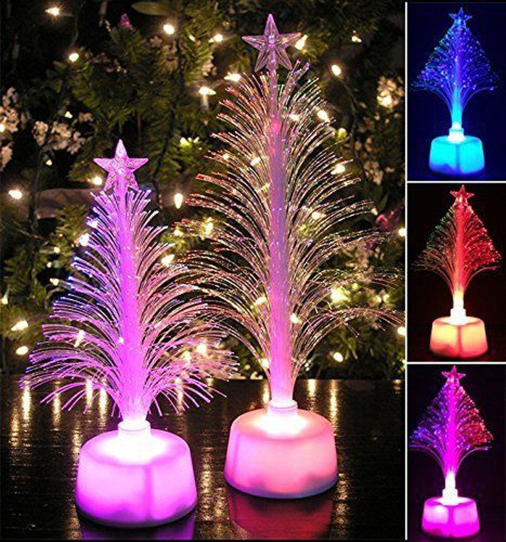 get quotations christmas tree lightfaber3 color changing mini christmas treemulticolor led light discoloured christmas