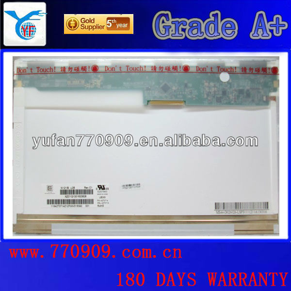 12.1 inch ,laptop lcd screen for N121IB-L05 ,Which can fit for Thinkpad X200 X201i X201 K26, S12 E23 G230