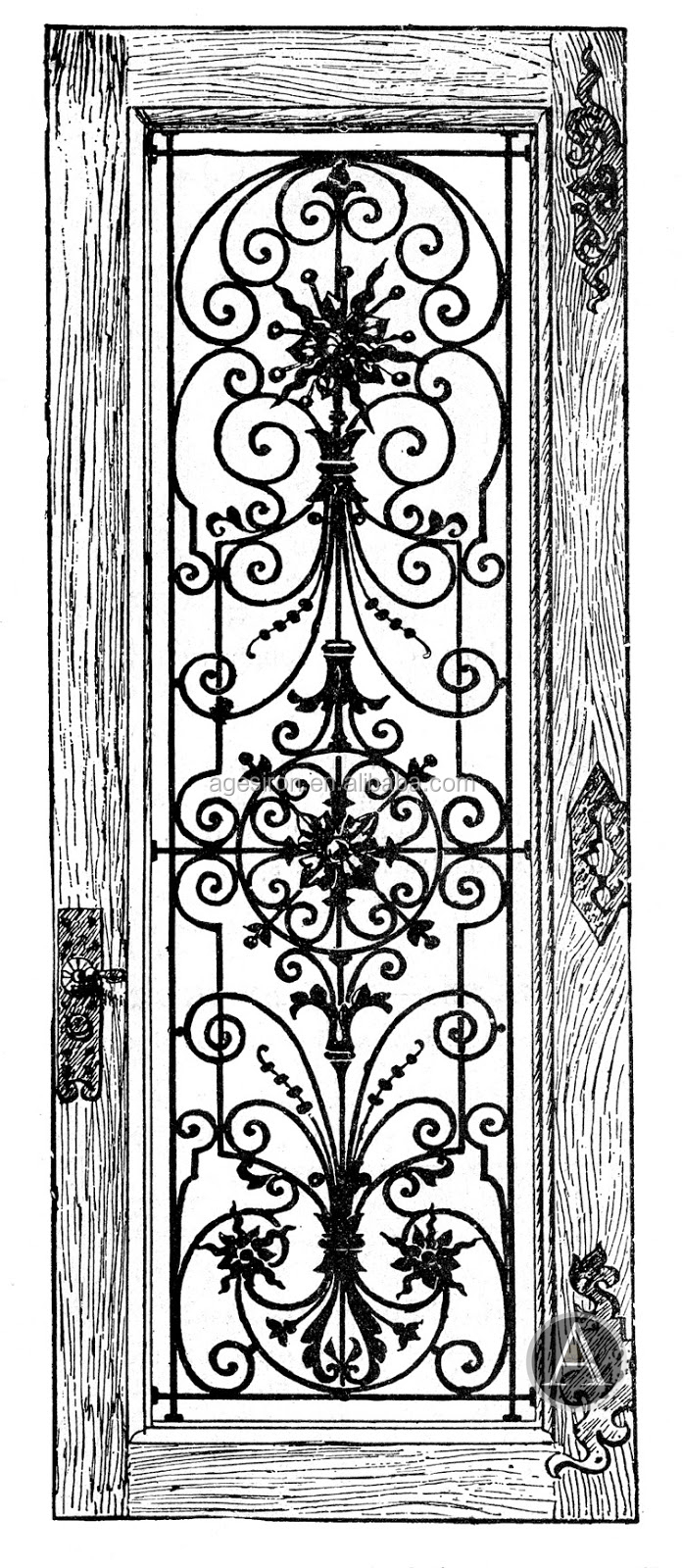 Top Quality House Gate Grill Designs/entry Gate - Buy House Gate ...