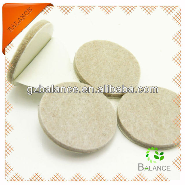 Self Adhesive Floor Protector/felt Pad/furniture Stick Leg Pad