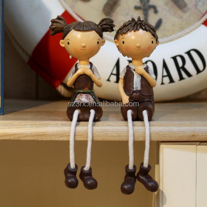 Custom Art Cute Lovers Sculptures China Supplier,Plastic Custom ...