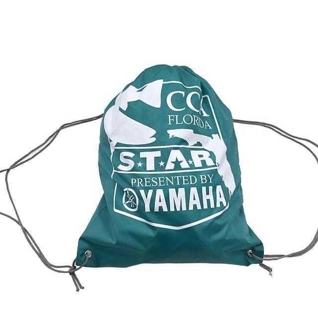 Дешевые индивидуальным принтованным изображением 210D полиэстер сумка-мешок