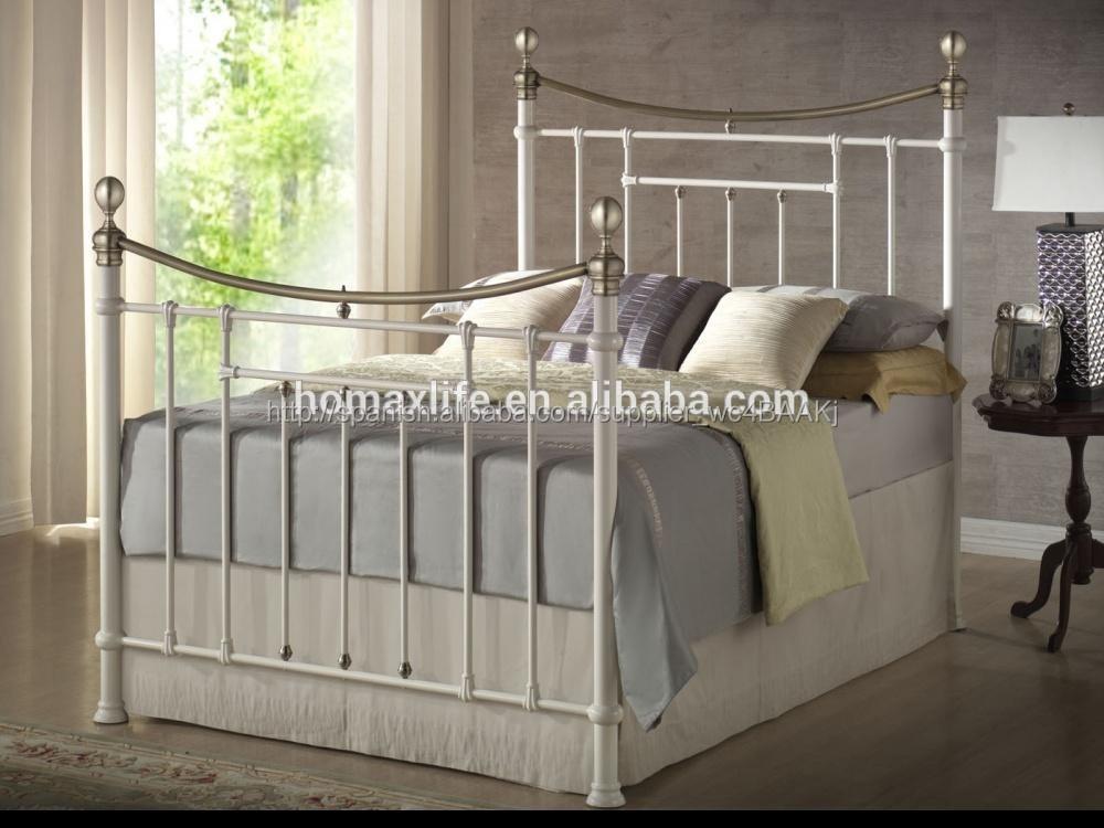 Dormitorio conjunto de muebles de hierro de acero cama cuna cuna de ...
