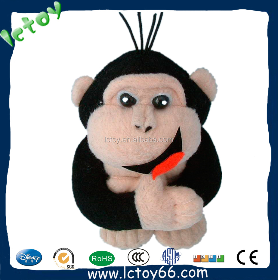 movie image lovely stuffed toy red monkey for kids buy suffed