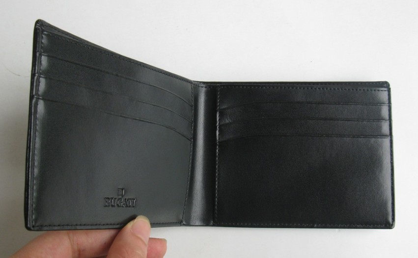 Dark brown Wallet in cow leather