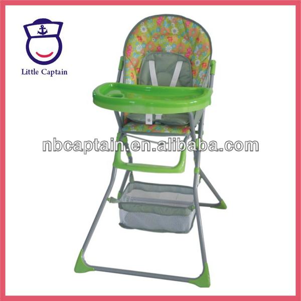 haute à coloré bébé bébé manger pliage dîner chaise chaise JK1Fcl