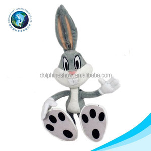 Easter day gift soft stuffed plush toy bugs bunny