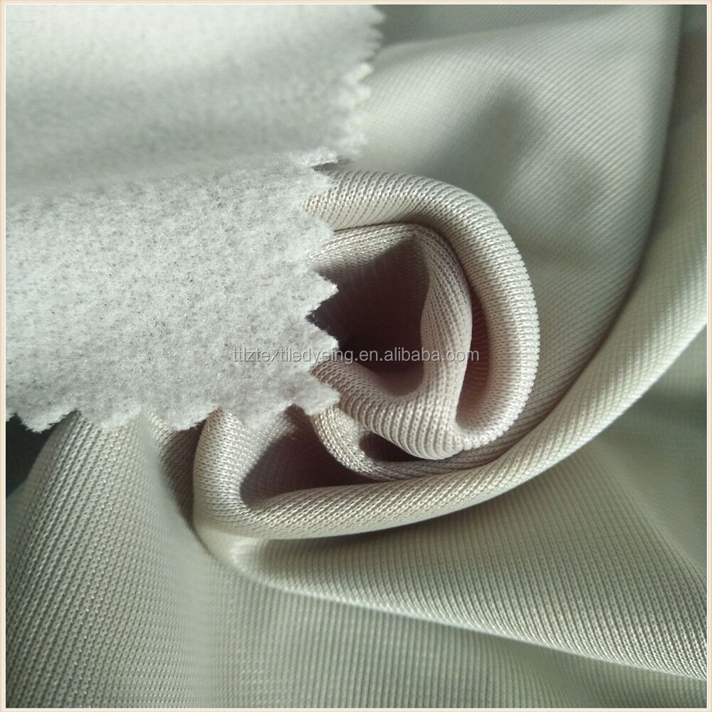 India market track suits fabric 100% polyester warp knitted tricot brushed super <strong>poly</strong>
