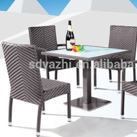 plastic outdoor furniture/outdoor chair and tables