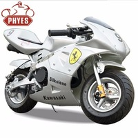 2-Stroke Engine Type and Gas / Diesel Fuel pocket bikes factory is selling high quality pocket bike 49cc motor