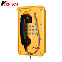 KNTECH Heavy Duty Phone SOS Weatherproof Dustproof Industrial PSTN Telephone Set for Railway KNSP-09