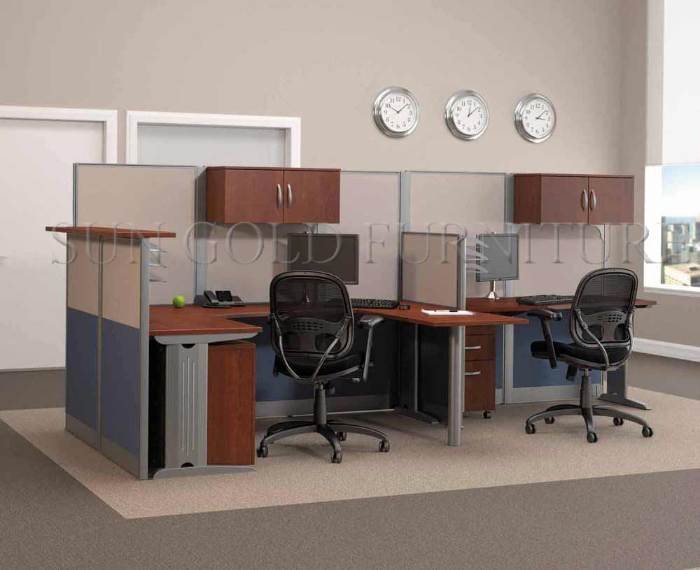 with side cabinet high class european style workstation office  - with side cabinet high class european style workstation officepartition(szws)