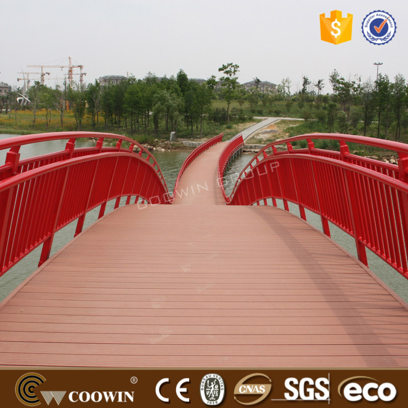 Swimming Pool Waterproof WPC Decking Composite Decking