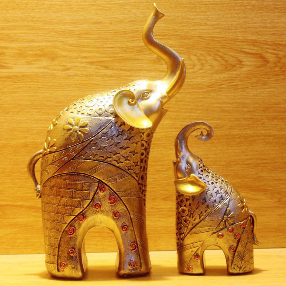 2017 Home Decorative Souvenir Polyresin Elephant