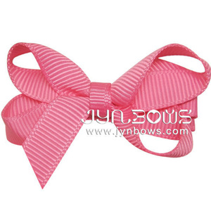 New Arrival Cute Stainless Steel Bows Ribbon Hair Clip For Kid