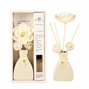 Wholesale Ceramic Aroma Scented Reed Diffuser with Rattan Stick