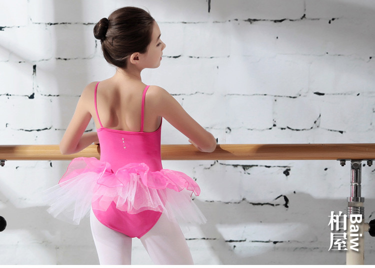 115242503 Baiwu  Girls Leotard Dance Ballet Dress Skirt Tutu