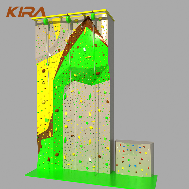 Competitive price kids used rock indoor climbing wall for sale