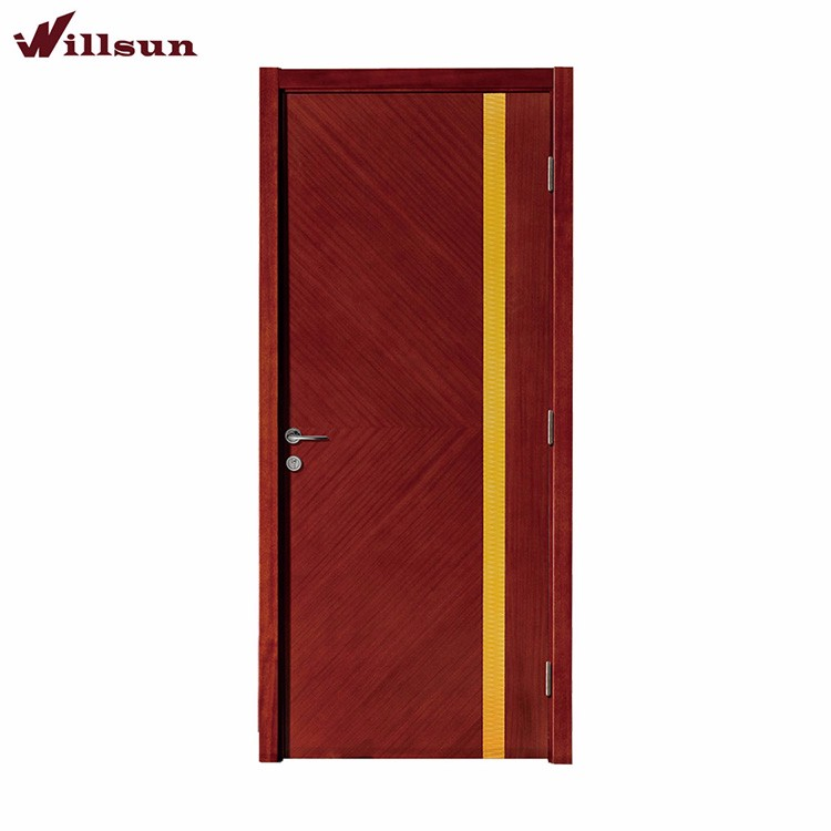 Plywood flush interior solid wood door price in Malaysia