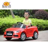 2.4G RC license AUDI A3 12v ride on car for kids with MP3