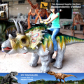 MY Dino-M28-3 Animals Kiddie Rides Animatronic Walking Dinosaur