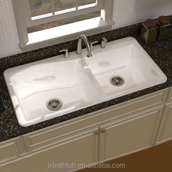 Double Bowl Undermount A Front