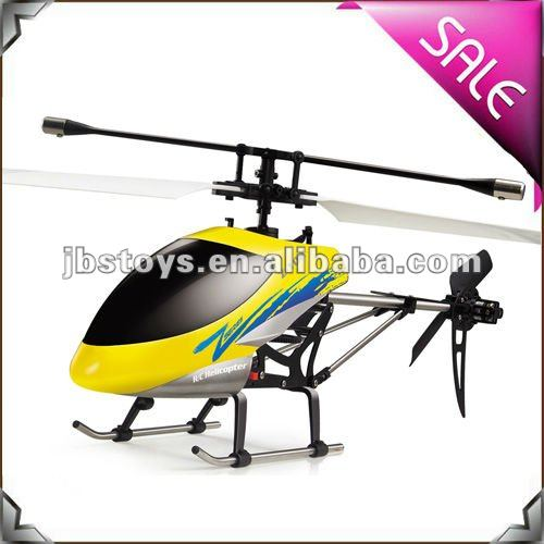 Zr Models 3 Channel Gyro Single-Blade Radio Controlled Helicopters Toy for Adult