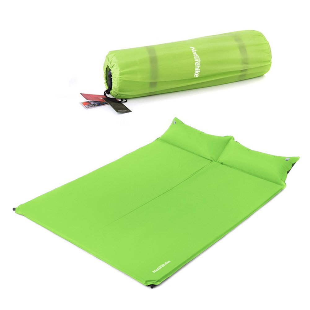 Outdoor double automatic inflatable cushions/ dampproof mat/ padded tents sleeping pad/ camping mat the grass/ meal mat/ inflatable cushions