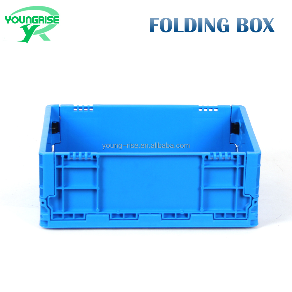 400*300 mm Durable New Design Foldable Plastic Moving Crates And Boxes