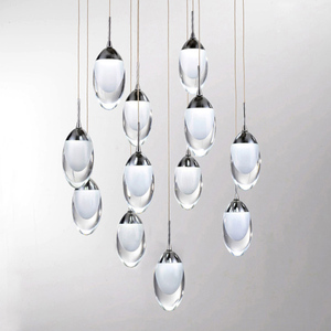 chandelier light pendant lamp accessory be made of organic glass product