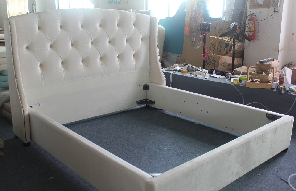 Modern Fashion Fabric Bed High Quality Bedroom Furniture