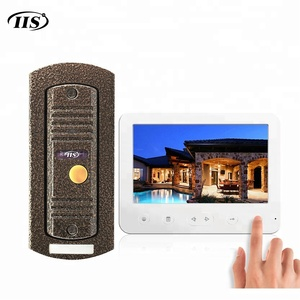 Video Doorphone Door Bell Intercom System Set with 2 Way Talking